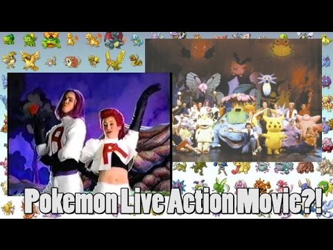 Pokemon Live Action Movie Will Be All Fake? (CGI)