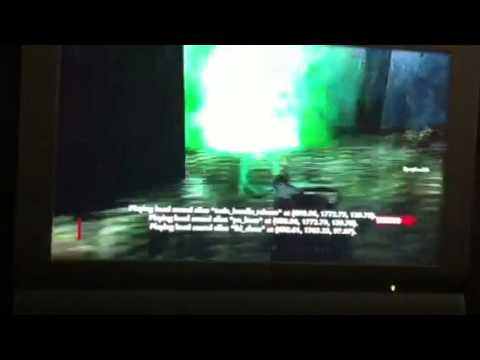Call Of Duty WaW Zombies Weird Easter Egg on Der Riese