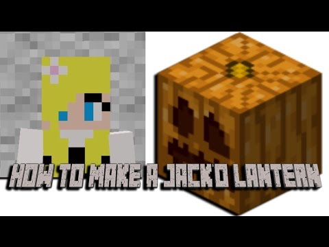 How to make a Jackolantern on Minecraft