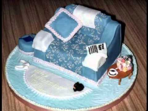 DIY Retirement cake decorations