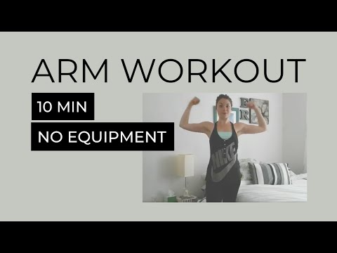 10-Minute Arm Workout (No Weights Required)