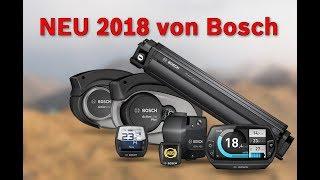 Vorgestellt: eBike-Neuheiten 2018 von Bosch