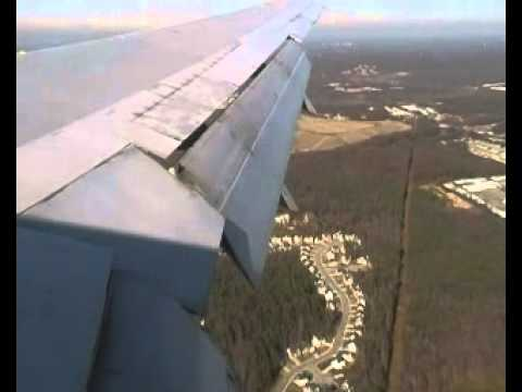 Atlanta Approach and Landing, Delta Airlines Flight 16