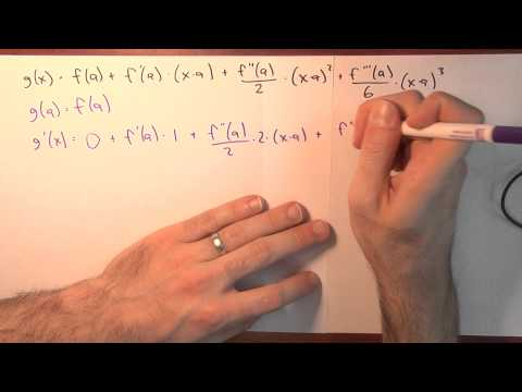 What is better than a linear approximation? - Week 6 - Lecture 1 - Sequences and Series