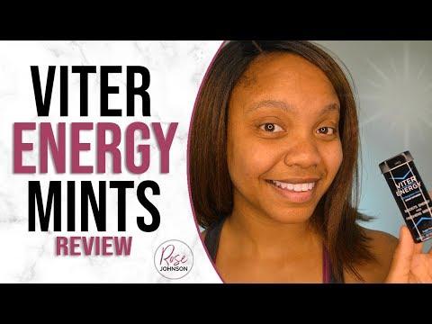 Viter Energy Mints Review 2018