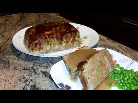 Turkey Meatloaf Recipe | How to make Meatloaf in Easy Steps