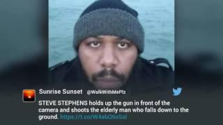 Cleveland police hunts down Facebook Live killer