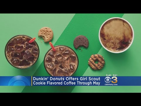 Dunkin' Donuts Offers Girl Scout Cookie-Flavored Coffee