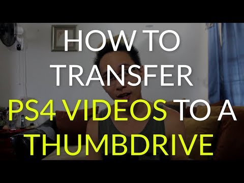How To Transfer PS4 Videos onto a Thumbdrive