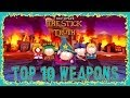 South Park Stick Of Truth Top 10 Best Weapons Underworld Gui