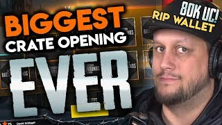 Biggest Crate Opening In Pubg Mobile History - 80,000 Uc
