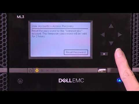 Dell Storage ML3: Access Recovery