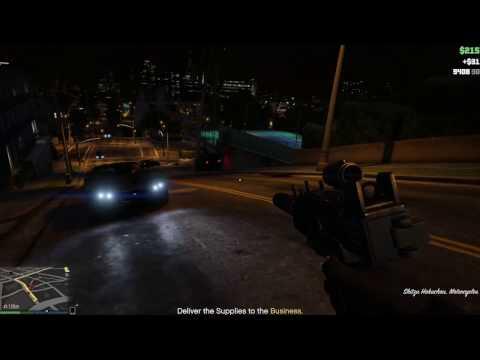 A Regular Supply Run In GTA Online