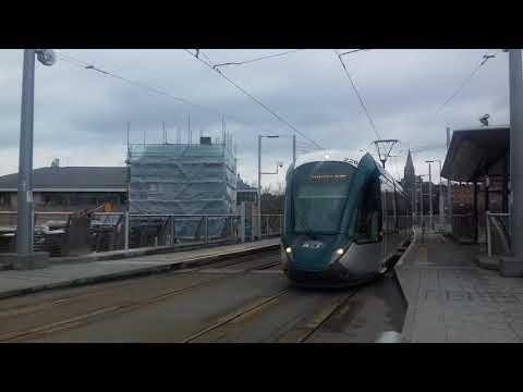 Tram at Nottingham 1