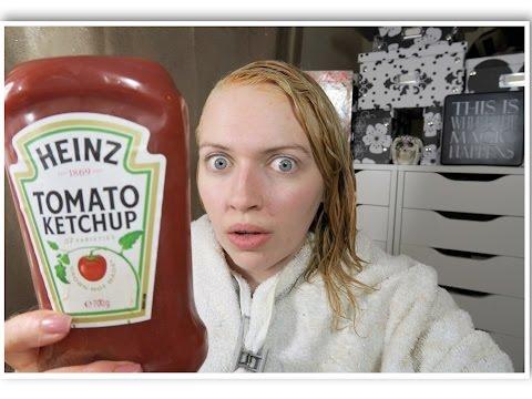 Ketchup color correction |  Green hair | IdleGirl