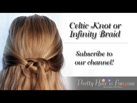 HOW TO DO A CELTIC KNOT IN YOUR HAIR 💞