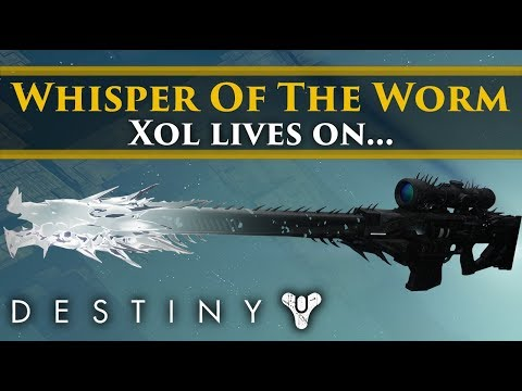Destiny 2 Lore - The Whisper of the Worm & The fate of Xol! Exotic Weapon Lore!