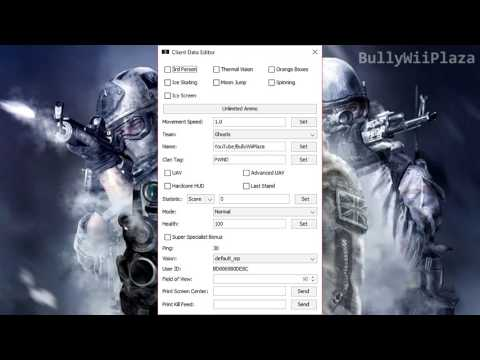 [Ghosts Wii U] Mod Injector Download [Fixed Version 03/08/2018]