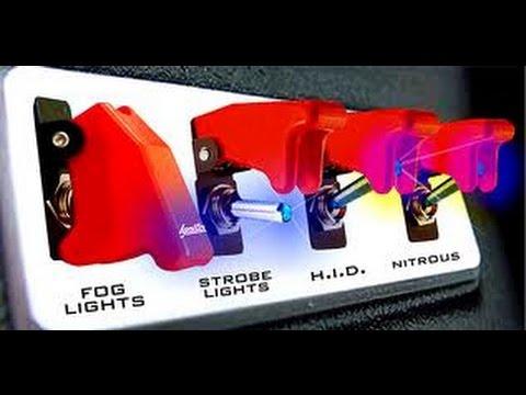 Switch Panel Video Custom Rocker Toggle Switches