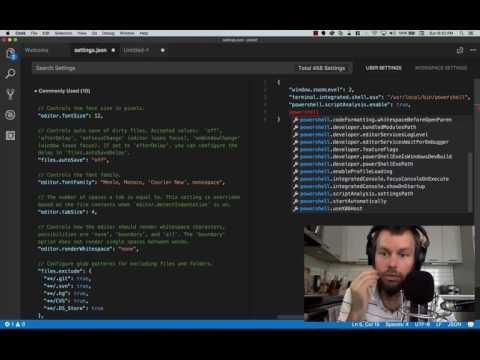 Setting up Visual Studio Code for PowerShell Development
