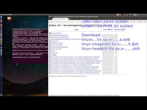 Upgrade Linux Kernel-How to-TUTORIAL