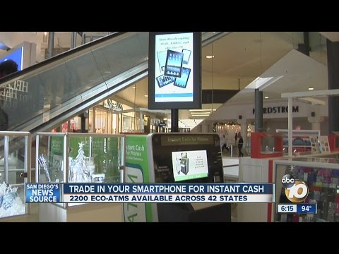 Trade in your smartphone for instant cash