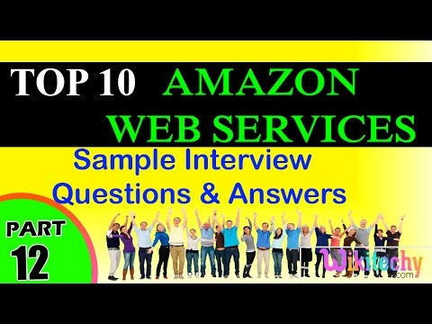 AMAZON WEB SERVICES  top most important interview questions and answers for freshers