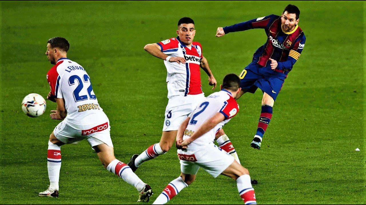 Lionel Messi - Amazing Long Range & Finesse Goals