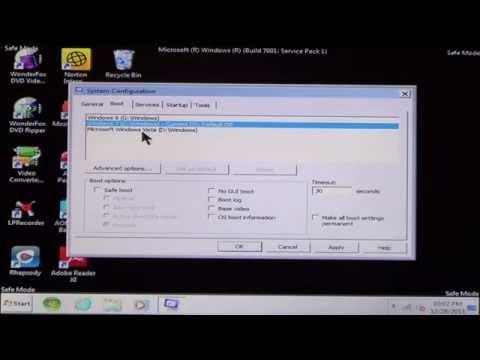 How to boot Windows XP/Vista/7 into Safe Mode
