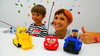 Download Видео про игрушки. Щенячий патруль и машинки! Video