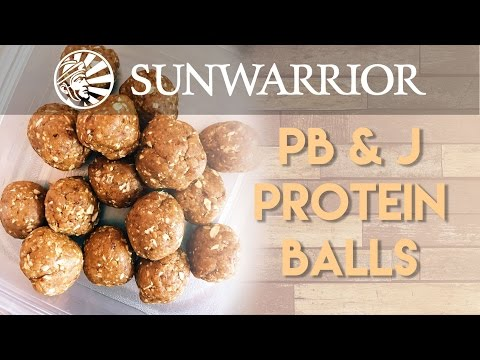 PB&J Protein Balls | Party in my Plants
