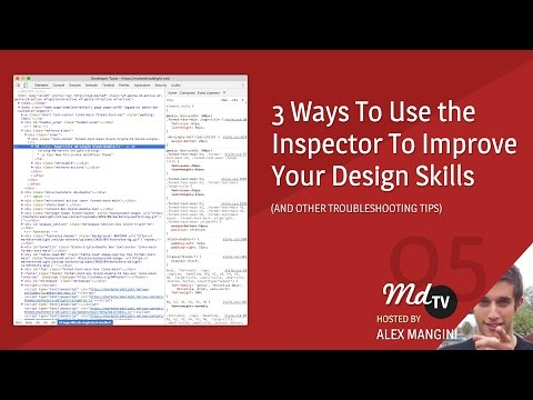 3 Ways to Use the Inspector to Improve Your Web Design Skills