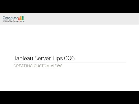 TST 006 Creating Custom Views
