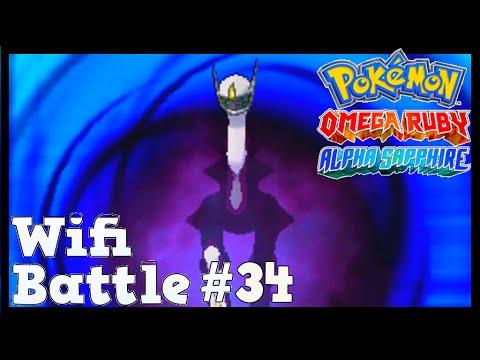 Pokemon ORAS  / X&Y Wifi Battle #34: Tentacruel vs Arceus (Omega Ruby & Alpha Sapphire)