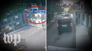 Video claims to show chain of events in Istanbul on day of Khashoggi