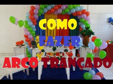 COMO FAZER ARCO ESPIRAL 4 CORES // DIY SPIRAL ARCH 4 COLORS