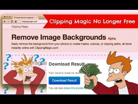 How to Download Images from Clipping Magic without Paying