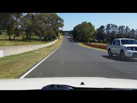 Bathurst race track in reverse ( 60 km limit )