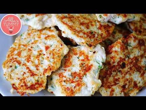 How to make Healthy Chicken Cutlets (Kotleti) - Куриные котлеты