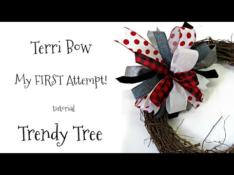2017 My First Attempt at a Terri Bow using Pro Bow