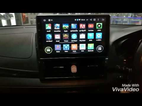 Toyota Vios with Tv Android 10