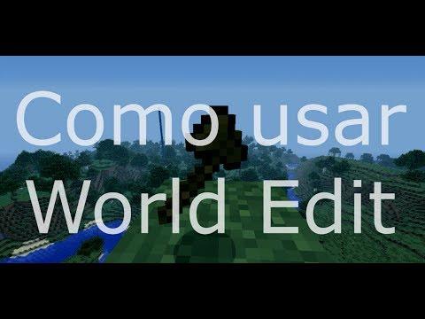 MINECRAFT| Como usar World Edit. LO BASICO