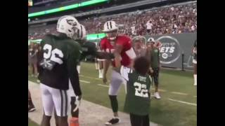 10-Year-Old Who Beat Leukemia Scores Against The NY Jets In Practice