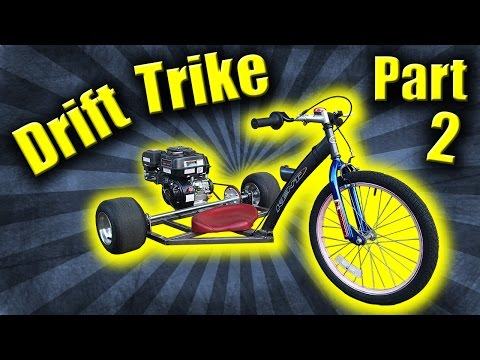 Drift Trike Build | Part 2 - Motorized Tricycle with a Predator 212cc Motor