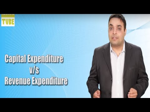 Difference Between Capital Expenditure and Revenue Expenditure   Vishal Thakkar