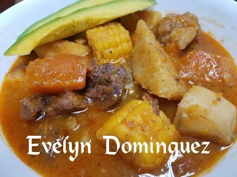 How to make a Delicious Sancocho(Ajiaco) Caribbean Soup