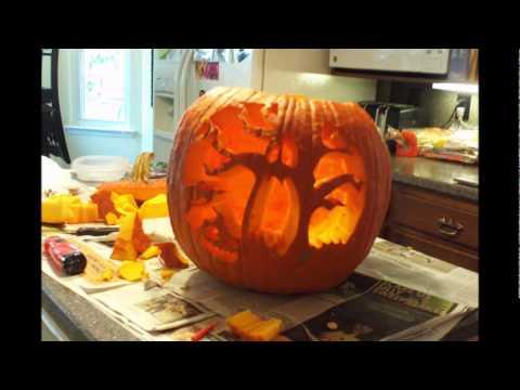 Pumpkin Carving - Halloween 2011