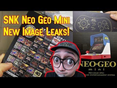New Leak! SNK Neo Geo Mini Classic Japanese Version & Packaging!