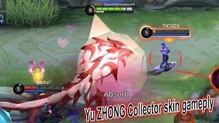 New Yu Zhong Collector SKin Gameplay mobile Legends