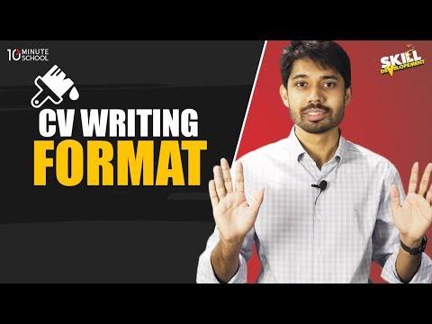 3. CV Writing Format by Ayman Sadiq [Skill Development]